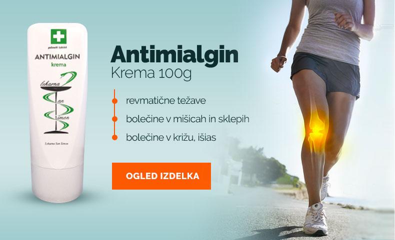 Antimialgin proti bolečinam v mišicah