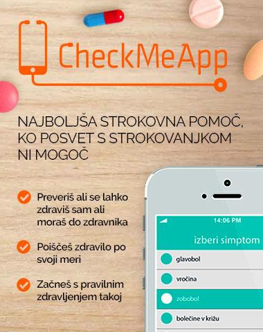 Spletna aplikacija checkmeapp
